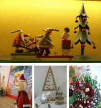 院内はクリスマスのかわいい飾りでいっぱいです!